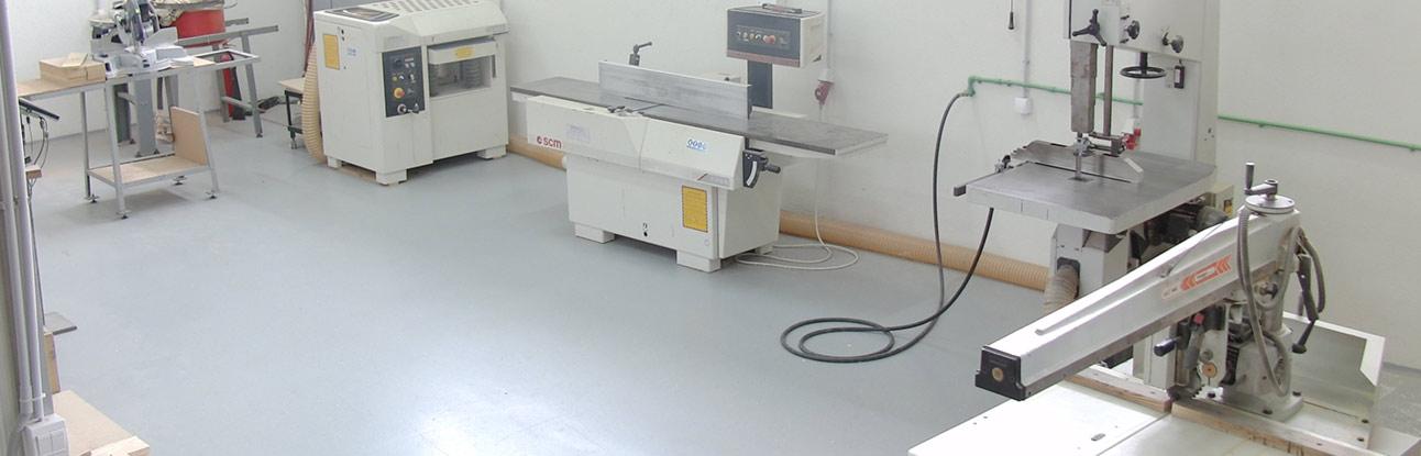 Wood CNC milling and varnishing